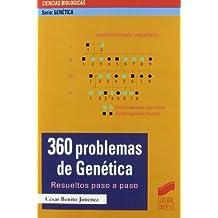360 problemas de genética: resueltos paso a paso (Serie Genética)