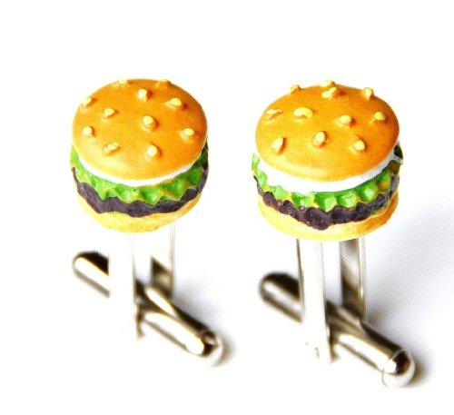 Quality Handcrafts Guaranteed Hamburguesa Gemelos-Foodie Regalo-Regalo para Chefs-Regalo para Cocineros-Caja de Regalo