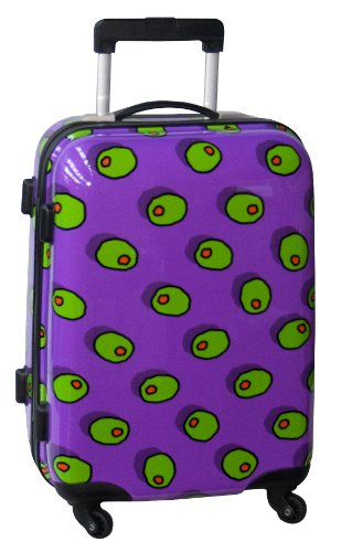 ed-heck-olives-hardside-21-inch-spinner-purple-one-size