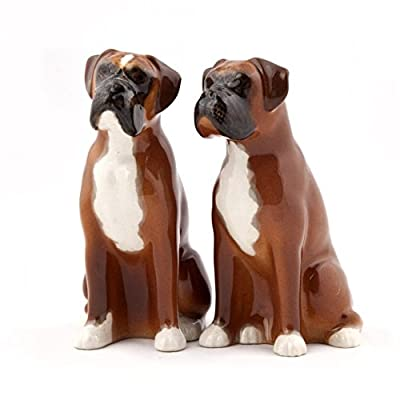 Quail Ceramics - Boxer Salt and Pepper Pots from Quail Ceramics