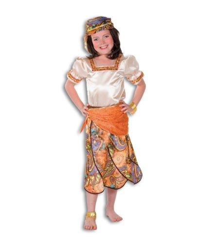 Hochwertiges Mädchen Kostüm Zigeuner, Gr. (Mädchen Zigeuner Für Kostüme Kinder)