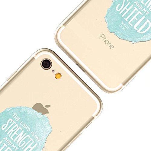 MOMDAD Coque pour iPhone 6 6S Silicone TPU Etui iPhone 6 6S Souple Coque pour iPhone 6 6S 4.7 Pouces Housse Bling Transparent Arrière Case Motif Shell Cas Couverture {Anti-Choc} {Anti-Shock Bumper} Ca Art TPU-3