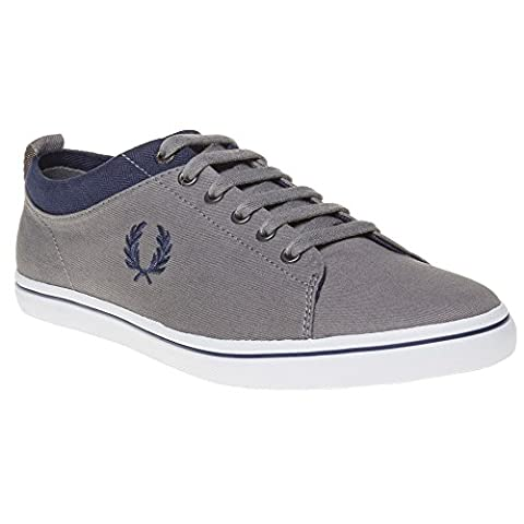 Fred Perry Hallam Canvas Homme Baskets Mode