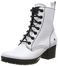Art Camdem, Bottes Classiques Femme, Blanc (White White), 39 EU
