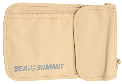 Sea To Summit TravellingLight Neck Wallet 5 Sand/Grey