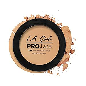 L.A. Girl Hd Pro Face Pressed Powder (Face Powder, Medium Beige, 7G