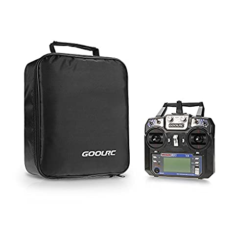 GoolRC GC6 2.4G 6CH AFHDS2A Transmitter Mode 2 and GC-6 6CH Receiver for RC Helicopter Multicopter Fixed-wing