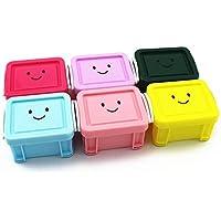 Zhou Yunshan Candy Farbe Pill Box Lock Mini Desktop Kleinigkeiten Aufbewahrungsbox Schmuck Bead Finishing Box... preisvergleich bei billige-tabletten.eu