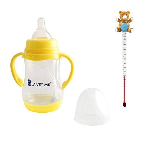 Lantelme 5633 Baby bottiglia e bottiglie Baby Thermo metri orsacchiotto,