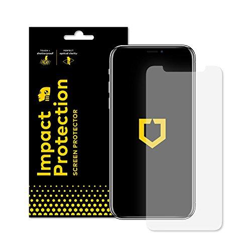 Rhino Shield iPhone X/XS Displayschutzfolie Impact Protection | Schockdämpfung und Aufprallschutz - Klarer, Kratzfester und Fingerabdruckresistenter Displayschutz