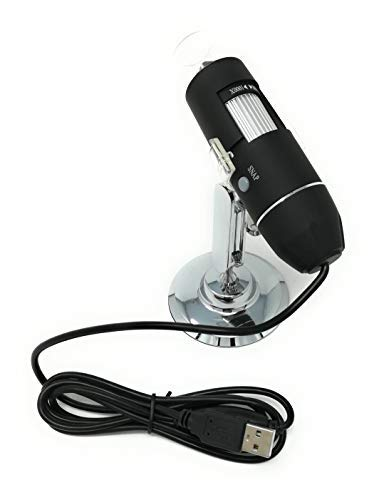 Tiempo Microscopio Portátil Digital 1000X endoscopio