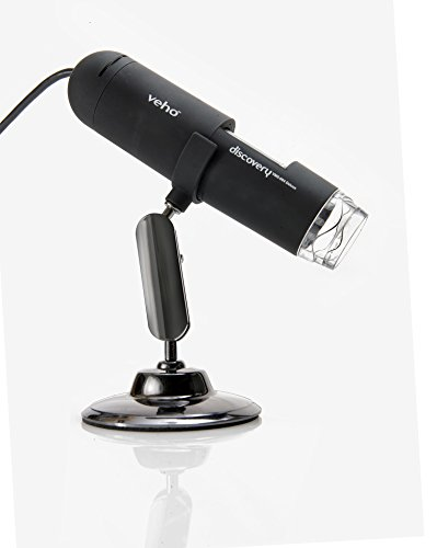 Veho VMS-004 Discovery Deluxe USB Mikroskop (mit 400-facher Vergrößerung & Flexiblem Metallständer) (UK Import) 004 Ram