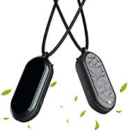 Wearable Air Necklace, Portable Air Purifier, Wearable Negative Ions Air Purifier for Home Travel