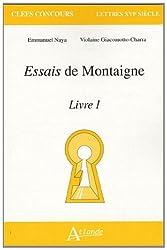 Essais de Montaigne, livre I
