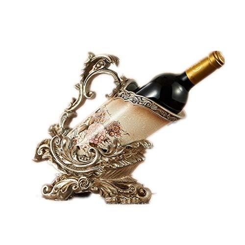 Weinregal Vintage aristokratischen Wind Holzflasche stehen nordische kreative Mode Wein Kabinett Dekorationen