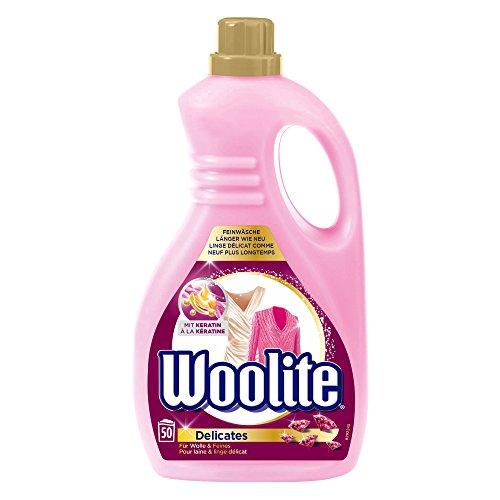Woolite Feinwaschmittel, sanftes Flüssigwaschmittel für 50 Waschladungen, 1er Pack (1 x 3 l) -