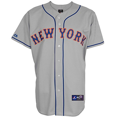 MLB Baseball Trikot/Jersey NEW YORK NY METS grau in S (SMALL)