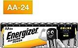 Energizer Pack de 24 Piles AA Energizer Alkaline Power