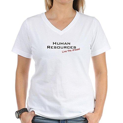 cafepress-human-resources-dream-womens-cotton-v-neck-t-shirt