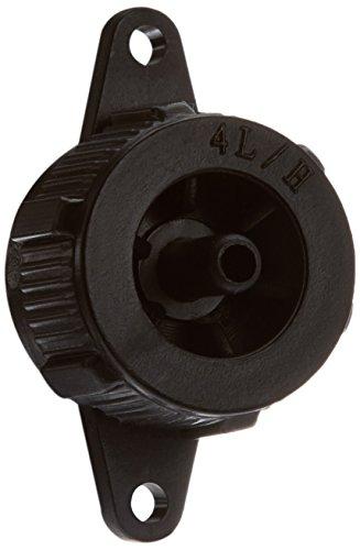 hidrorain Rambo A4 - 20 - gotero autocompensante débit 4 l/h, 4,5 x 6,5m , Couleur Noir