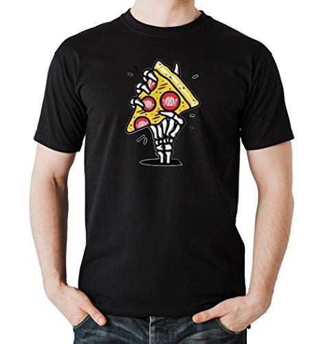 Certified Freak Pizza Hand T-Shirt Boys Black L
