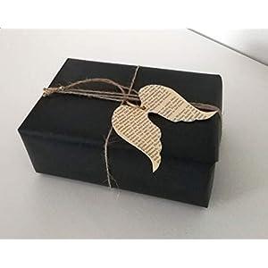"""10er-Set Geschenkanhänger""""Engel"""" aus Buchseiten/Buch Upcycling/Geschenkverpackung/Etikett/Weihnachtsgeschenk"""