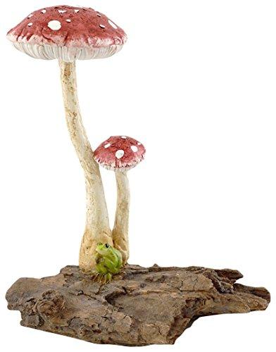 Top Kollektion Miniatur-Fairy Garden und Terrarium niedliche Mini Frosch sitzend von Pilze Figur