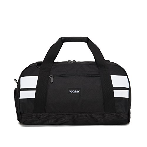 vooray-burner-21-gym-bag-with-shoe-pocket-and-laundry-bag-black-white