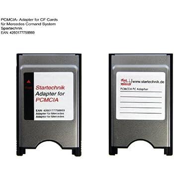 PCMCIA Adapter für Mercedes Bediensystem COMAND APS* - ideal um CF Compactflash Speicherkarte über das Multimedia-System abzuspielen. PCMCIA-Adapter für COMAND APS Code 527 512