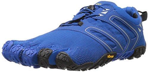 Vibram FiveFingers Herren V-Trail Traillaufschuhe, Blau (Blue/Black), 42 EU
