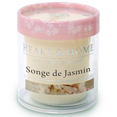 Petite Bougie à la cire de soja Songe de Jasmin
