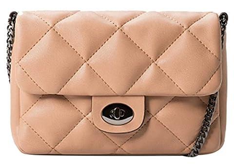 Mango Bag Ladies PU LeatherWomen's Crossbody Shoulder Bag; 34 x 17.5 x 3 cm (LxHxW); Model: S000291-E431