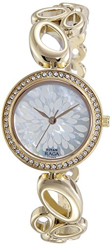 Titan Analog Mother Of Pearl Dial Women's Watch-2539YM01 image
