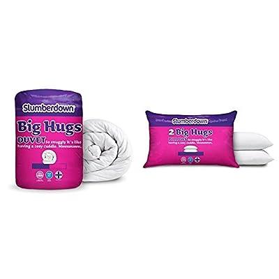 Slumberdown Big Hugs Duvet, White
