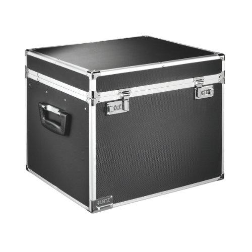 Leitz 67140095 - Cajas de almacenaje (aluminio), color negro