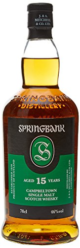 Springbank 15 Years Old mit Geschenkverpackung Whisky (1 x 0.7 l)