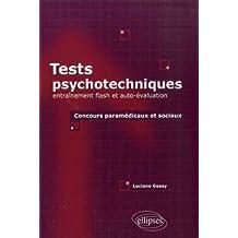 Tests psychotechniques entrainement flash & auto-évaluation concours paramedicaux & sociaux