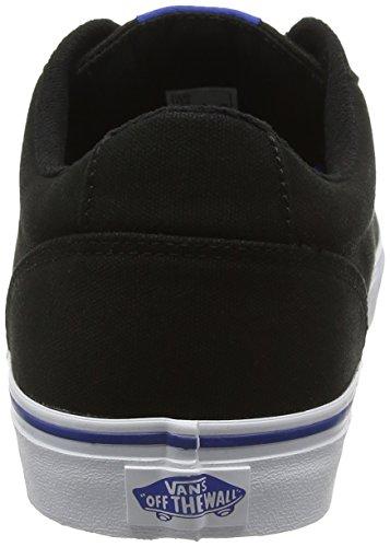 Vans Winston, Baskets Basses Homme Noir (Varsity Black/Blue)