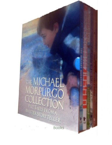 Michael Morpurgo  5 books box Set: The Mozart Question / The Kites Are Flying! / Homecoming / I Believe in Unicorns / This Morning I Met A Whale rrp 29.95
