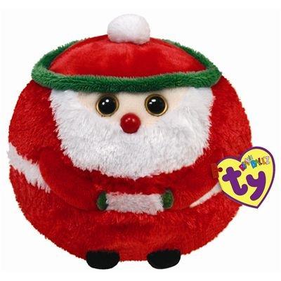 TY Beanie Ballz Christmas Kringle Santa