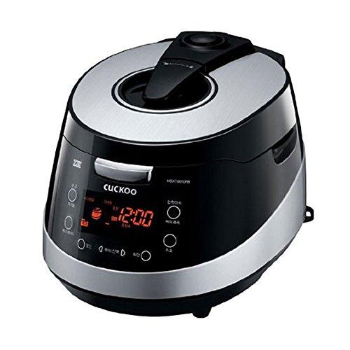 b 6 Tassen Elektrische Druck Reiskocher Warmer Voice Guide Schwarz 220V ()