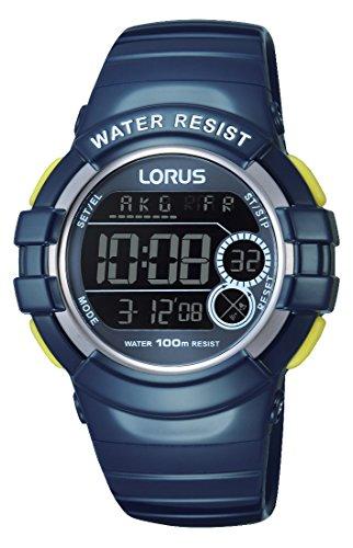 Relojes Lorus it's_amaz-reloj deportivo digital de cuarzo caucho R2315KX9