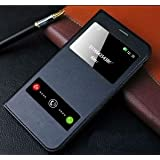 Helix Wallet Window Leather Flip Cover for Samsung Galaxy J7 Nxt