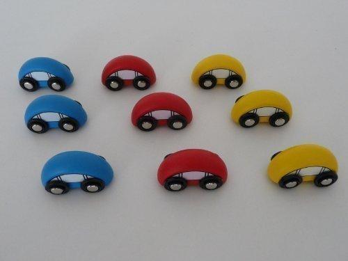 point-kids Holzeisenbahn Auto Holz Set 9 Teile