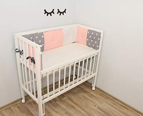 ULLENBOOM Protector para bordes de cuna │ Chichonera bebé también para colecho │...