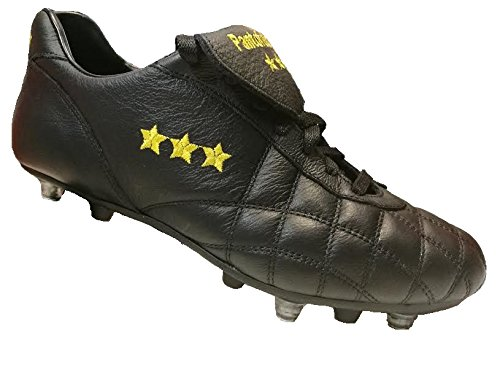 Pantofola d'Oro , Chaussures de foot pour homme noir noir 43.5 Noir