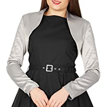 BlackButterfly Formal Satén Manga Larga Bolero