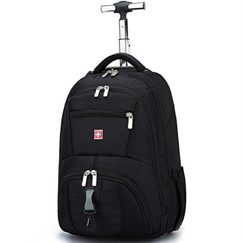 Trolley-Tasche Fliegend Genehmigt Leicht Tragetasche tragen 16 Zoll Computer Rucksack (Rollende Computer Tasche)