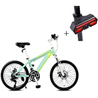 Huoduoduo Bicicleta, Bicicleta De Montaña, 22 Pulgadas De 24 De Velocidad De Disco Doble