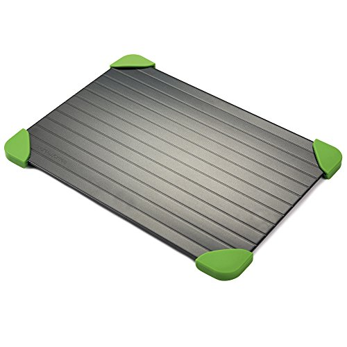 Andrew James Quick Thaw Defrost Tray With Non-slip Silicone Corners